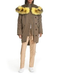 Opening Ceremony Parklife Parka With Removable Faux
