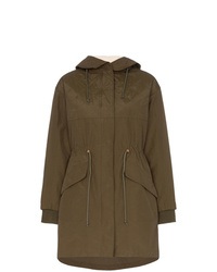 See by Chloe See By Chlo Hooded Zip Up Parka