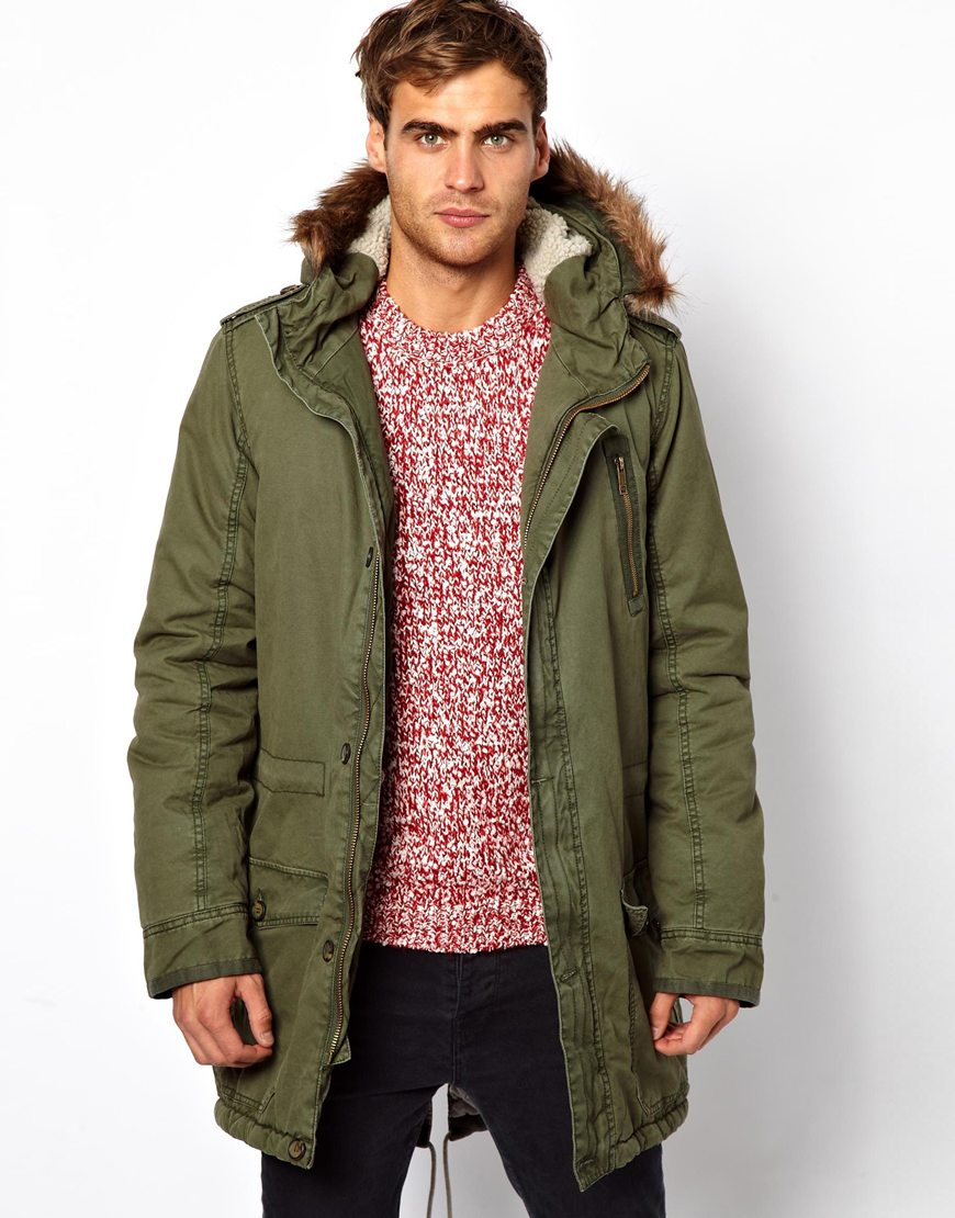 Solid Parka Jacket | Where to buy & how to wear