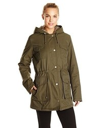 Tommy Hilfiger Parka With Quilted Lining And Fur Hood