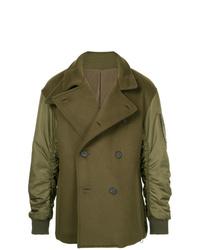 Wooyoungmi Bomber Pea Coat Jacket