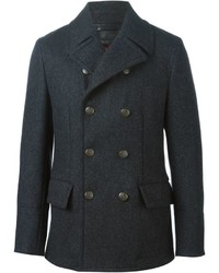 Brass buttons short peacoat medium 350496