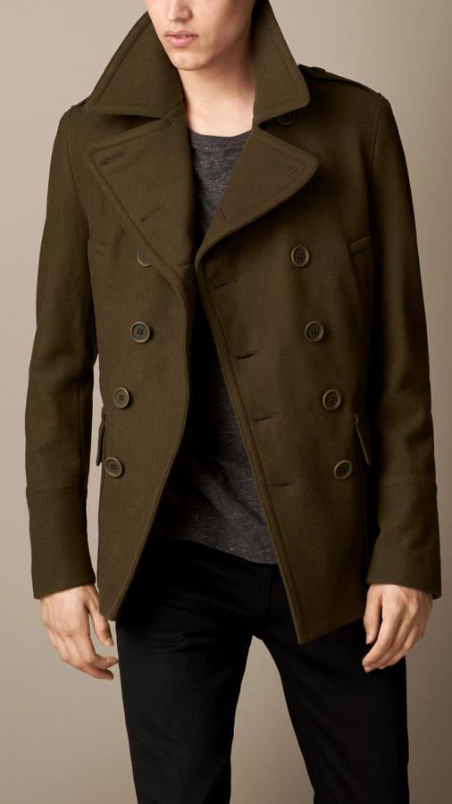 Burberry Brit Wool Cashmere Pea Coat | Where to buy & how to wear