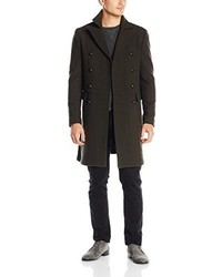 John Varvatos Star Usa Double Breasted Peacoat