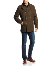 Levi's Peacoat With Zip Out Nylon Bib