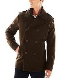 Levi's Levis Pea Coat With Removable Bib