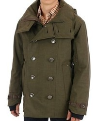 Salence Caisson Pea Coat Waterproof Insulated