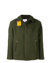 Oamc Short Single Breasted Coat