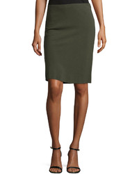 Olive Pencil Skirt