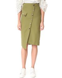 Button down skirt medium 3765208