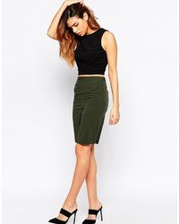 Asos Collection Pencil Skirt With Wrap