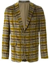 Boglioli plaid double button blazer medium 444931