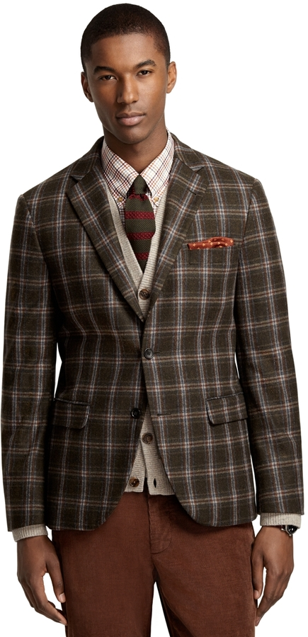 Brooks Brothers Milano Fit Windowpane Sport Coat | Where to buy ...