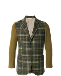 Tartan fitted blazer medium 7825919