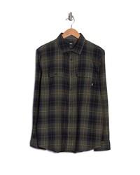 Vans Plaid Flannel Button Up Shirt
