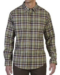 Olive Plaid Long Sleeve Shirt
