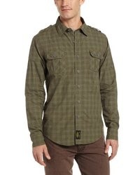 Alpha Industries Victory Ii Plaid Woven Shirt
