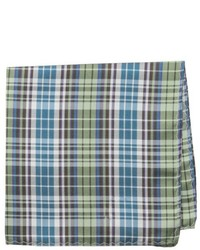 Original Penguin Douglass Plaid Pocket Square