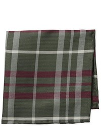 Vince Camuto Colosseum Plaid Pocket Square