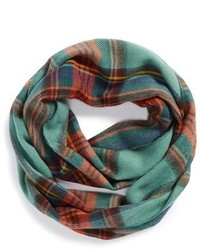 David & Young Junior Plaid Infinity Scarf