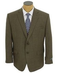 Ralph Lauren New Olive Plaid 2 Button Wool Sport Coat Jacket