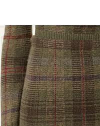 e759ec971 Ralph Lauren Tartan Cashmere Sweater Skirt, $1,490 | Ralph Lauren ...
