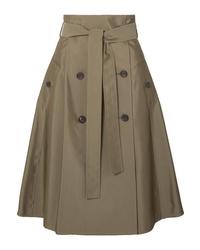 0618fd3417 Olive Pleated Midi Skirts for Women   Women's Fashion   Lookastic.com