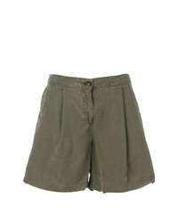 Woolrich Front Pleated Shorts