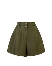 Fleur Du Mal High Waisted Pleated Shorts