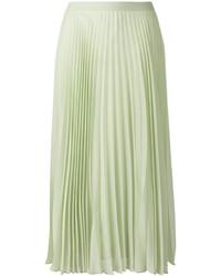 Maison Margiela Pleated Midi Skirt