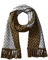 Ben Sherman Micro Dot Knit Scarf