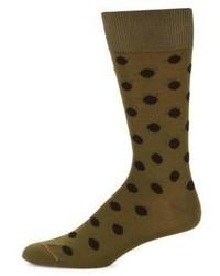 Paul Smith Two Pack Dot Print Socks