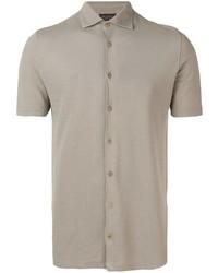 Dell'oglio Button Up Polo Shirt