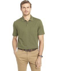 Van Heusen Classic Fit Feeder Striped Polo