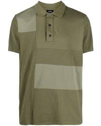 Diesel Patchwork Design Polo Shirt