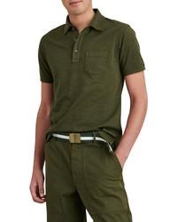 Alex Mill Standard Short Sleeve Slub Pocket Polo