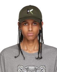 Kenzo Grey K Baseball Cap