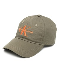 Calvin Klein Jeans Logo Embroidered Baseball Cap