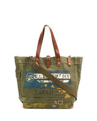 Polo Ralph Lauren Printed Tote Bag