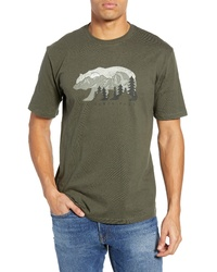 700712011 Men's Olive Crew-neck T-shirts by The North Face | Men's Fashion ...
