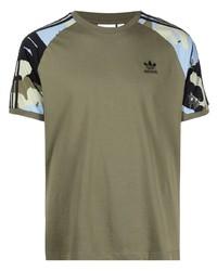adidas Camouflage Print T Shirt