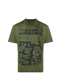 DSQUARED2 Collage Print T Shirt