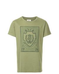 Kent & Curwen Crest Print T Shirt