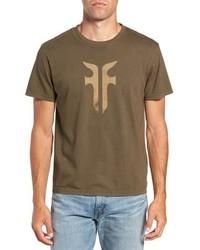 Frye Double F Logo T Shirt
