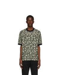 Fendi Green Viscose Ff T Shirt