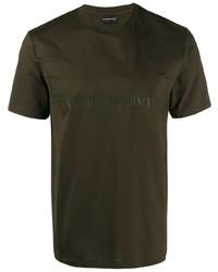 Emporio Armani Logo Print T Shirt