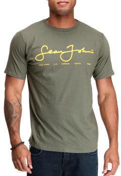 d10b785591b ... T-shirts Sean John S J Script Logo Ss Tee