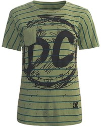 DC Shoes All Stripes Pocket T Shirt Cotton Jersey Short Sleeve