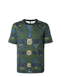 Versus Trompe Loeil Print T Shirt