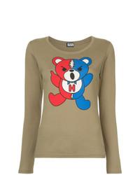 Hysteric Glamour Dead Bear Print Blouse